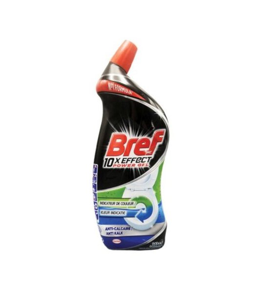 Bref WC 10 x  Effect Max Ocean Żel do WC 700ml