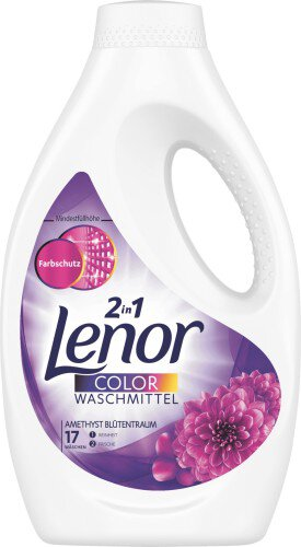 Lenor 2 in 1 Color Waschmittel żel do prania 935ml