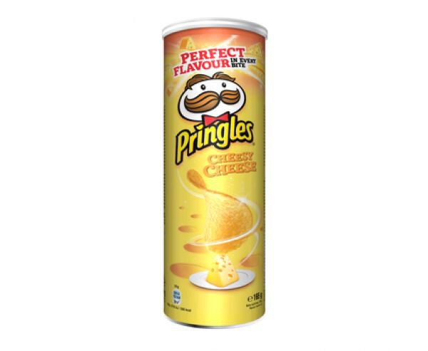 Pringles Cheesy Cheese Chipsy w tubie 165 g