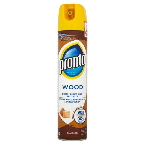 Pronto Wood Classic Spray do mebli drewnianych 250 ml