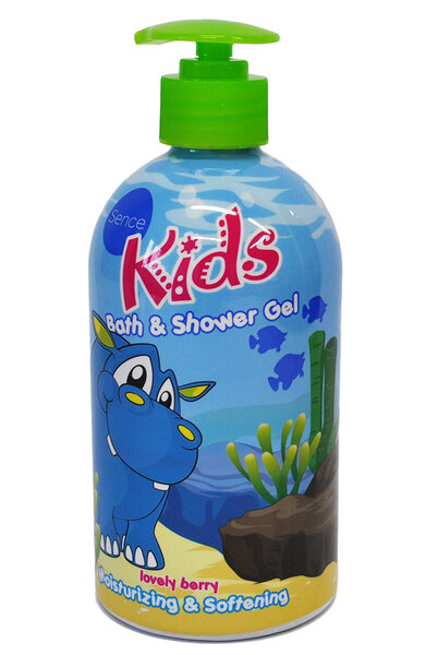 Sence Kids Bath & Shower Żel do kąpieli jagodowy 500ml