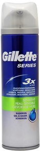 Gillette Series 200ml żel do golenia Sensitive