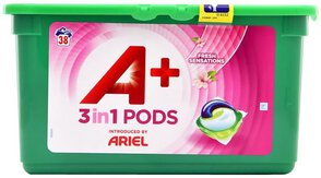 A+/ Ariel 3in1 Kapsułki Fresh Sensations 38 prań