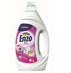Deluxe Enzo 2in1 Sensitive 100 prań Żel do prania 4l
