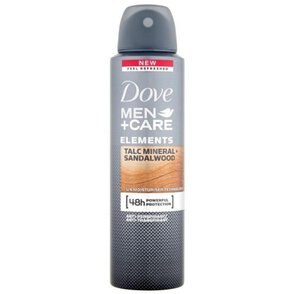Dove Men+Care Talc Mineral + Sandalwood Antyperspirant w Sprayu 150 ml