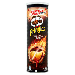 Pringles Hot & Spicy Chipsy w tubie 165 g