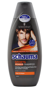 Schauma 400ml szampon Men Sports POWER