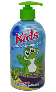 Sence Kids Bath & Shower Żel do kąpieli jabłkowy 500ml