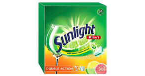 SUNLIGHT TABLETKI DO ZMYWAREK ALL IN ONE 52 SZT