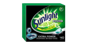 SUNLIGHT TABLETKI DO ZMYWAREK EXPERT 40 SZT