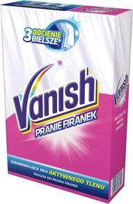Vanish Proszek do prania firanek 400 g